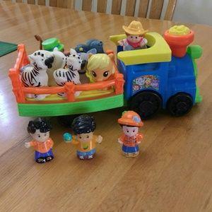 Farm Zoo Train Little People